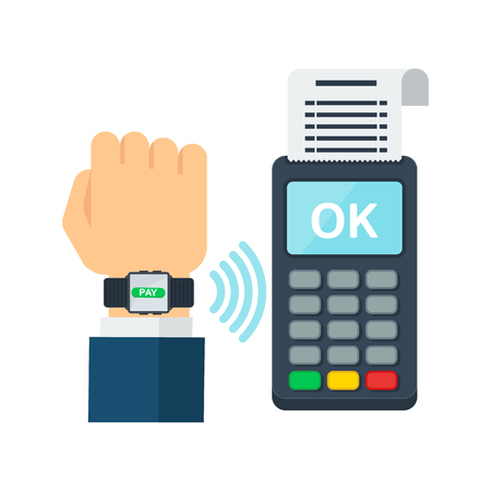 Contactless payment using RFID or NFC technology