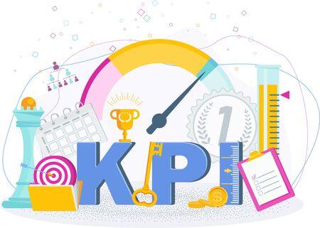Key Performance Indicators typography.