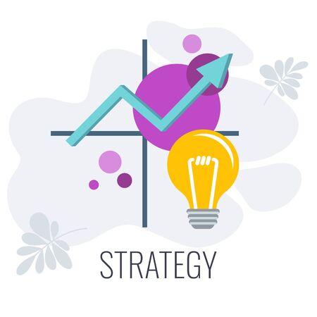 Business and marketing Strategic Planning Matrix infographics Vecteurs