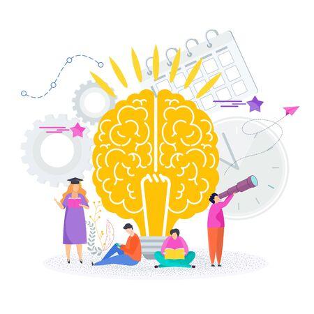Smart brain. Tree of Success knowledge.