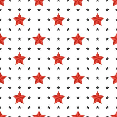 Star Seamless Pattern. Repeating ornament for fabric