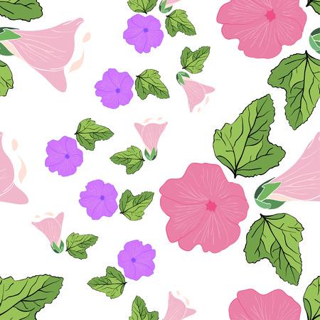 mallow: pattern mallow Illustration