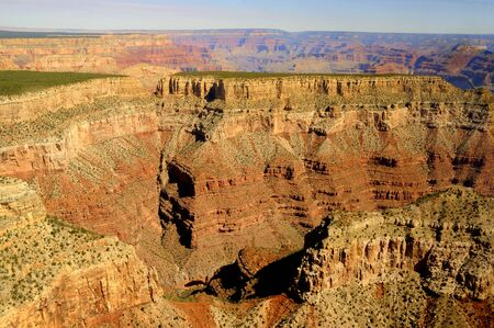 Grand Canyon from the Air USA photo