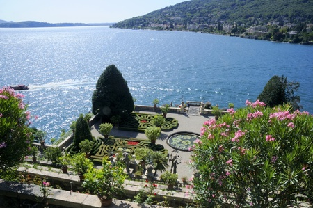 maggiore: Isola Bella on Lake Maggiore in the Italian Lakes, Italy Stock Photo