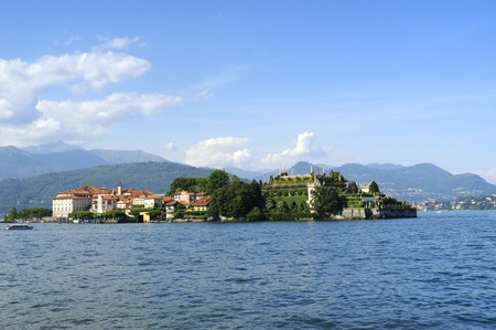Isola Bella on Lake Maggiore in the Italian Lakes, Italy Stock Photo