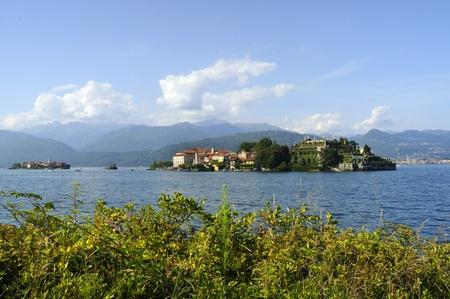 Isola Bella sul Lago Maggiore nei laghi italiani, Italia