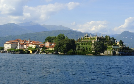 Isola Bella on Lake Maggiore in the Italian Lakes, Italy Stock Photo - 9009709