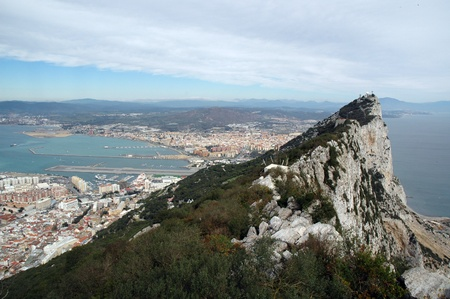 The very top of the Rock of Gibraltar photo