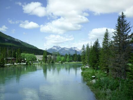 Bow River Banff National Park Alberta Canada photo