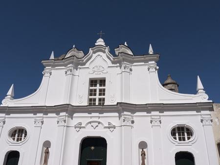 Parish church in Anacapri, Capri, Campania,Italy photo