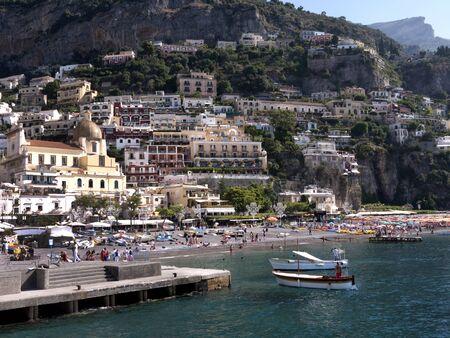 positano: Positano on the Amalfi Coast in Southern Italy