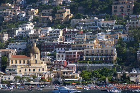 steinbeck: Positano on the Amalfi Coast in Southern Italy