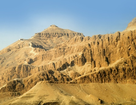 The official name for the Valley of the Kings in ancient times was The Great and Majestic Necropolis of the Millions of Years of the Pharaoh, Life, Strength, Health in The West of Thebes. Stock Photo - 9608411