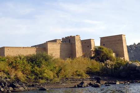 pharoah: Philae is an island in the Nile River and the site of an Ancient Egyptian temple complex in southern Egypt.