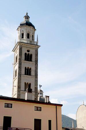 Church in Tirano  Italy Stock Photo - 9680998