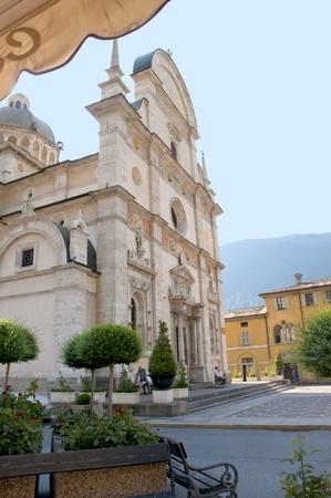 Church in Tirano Italy