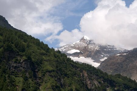 The Bernina Range is a mountain range in the Alps of eastern Switzerland and northern Italy. It is considered to be part of the Central Eastern Alps. It is one of the highest ranges of the Alps,covered with many glaciers photo
