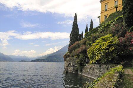 Beautiful Garden on Lake Como in Northern Italian Lake\ District