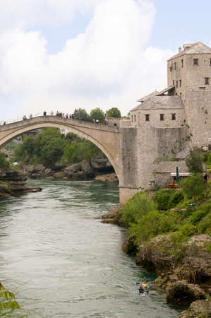 neretva: Mostar was named after  the bridge keepers (natively: mostari) who guarded the Stari Most (Old Bridge) over Neretva river. The Old Bridge is one of the city Editorial