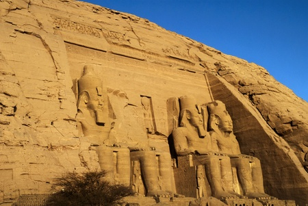 abu simbel: The Temple of Rameses II at Abu Simbel in Southern Egypt