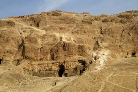 Valley of the Nobles near Luxor Egypt