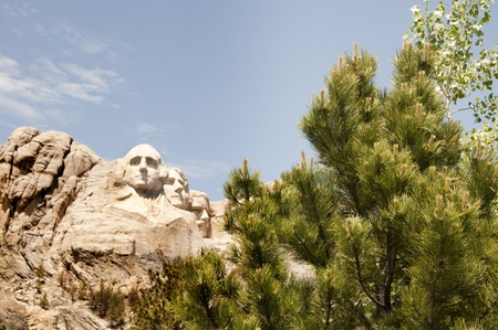 Mount Rushmore in Dakota USA Stock Photo - 14542989