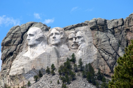 Mount Rushmore in Dakota USA