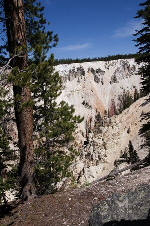 Grand Canyon of the Yellowstone River Wyoming photo