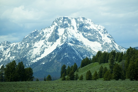 Grand Tetons National Park Wyoming USA photo