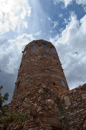 Desert View Watchtower was built in 1932 and is one of Mary Jane Colter photo