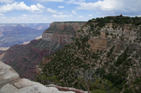 tribal park: View Over the Grand Canyon ArizonaNevada USA