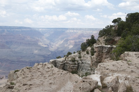 red bluff: View Over the Grand Canyon ArizonaNevada USA