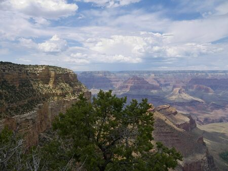 View Over the Grand Canyon ArizonaNevada USA photo