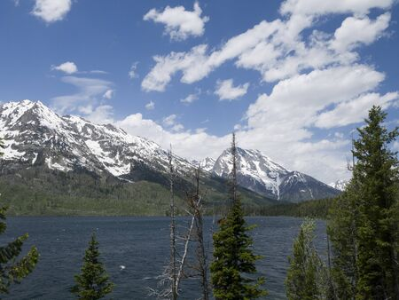 Jenny Lake Grand Teton National Park Wyoming US photo