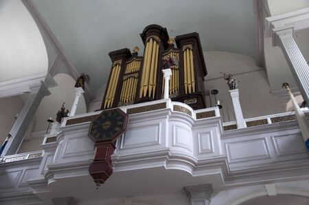 Organ in North Church. Boston is the capital and largest city in Massachusetts, and is one of the oldest cities in the United States. The largest city in New England, Boston is regarded as the unofficial Capital of New England