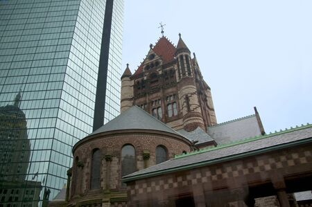 boston tea party: Trinity Church. Boston is the capital and largest city in Massachusetts, and is one of the oldest cities in the United States. The largest city in New England, Boston is regarded as the unofficial Capital of New England  Editorial