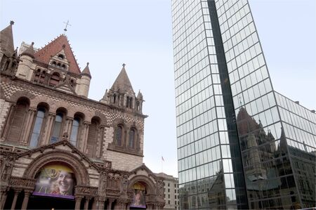 unofficial: Trinity Church. Boston is the capital and largest city in Massachusetts, and is one of the oldest cities in the United States. The largest city in New England, Boston is regarded as the unofficial Capital of New England  Editorial