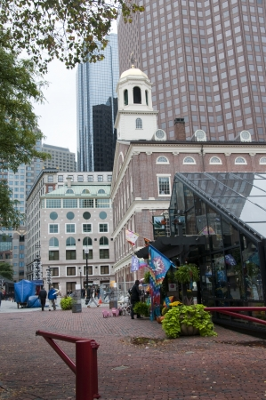 plimoth: Faneuil Hall. Boston is the capital and largest city in Massachusetts, and is one of the oldest cities in the United States. The largest city in New England, Boston is regarded as the unofficial Capital of New England