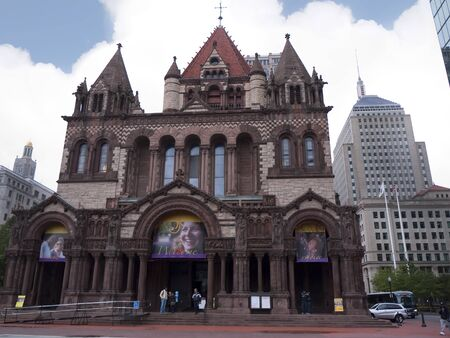 revere: Trinity church.Boston is the capital and largest city in Massachusetts, and is one of the oldest cities in the United States. The largest city in New England, Boston is regarded as the unofficial Capital of New England