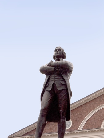 regarded: Statue of Sam Adams.Boston is the capital and largest city in Massachusetts, and is one of the oldest cities in the United States. The largest city in New England, Boston is regarded as the unofficial Capital of New England  Editorial