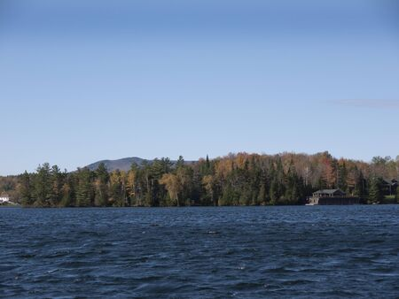 Lake Winnipesaukee is the largest lake in the U.S. state of New Hampshire. Winnipesaukee is the third-largest lake in New England after Lake Champlain and Moosehead Lake. photo