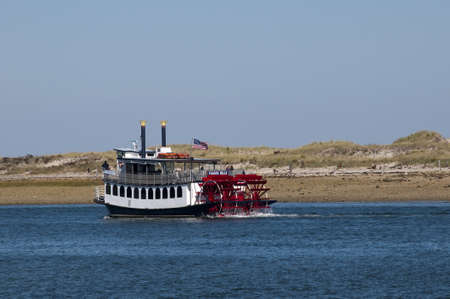 Paddle steamer Cape Cod  an island and a cape in the state of Massachusetts, in the Northeastern United States