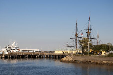 Mayflower in Plymouth Massachusetts USA