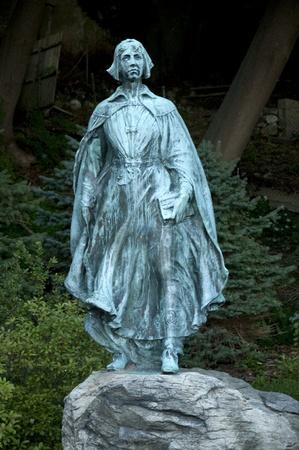 wampanoag: Statue to the Pilgrim Women in Plymouth Massachusetts USA Stock Photo