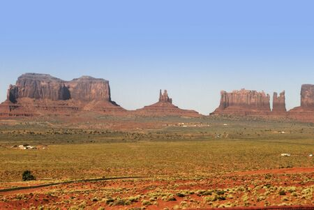 john wayne: Buttes in Monument Valley, Navajo Tribal Lands Utah