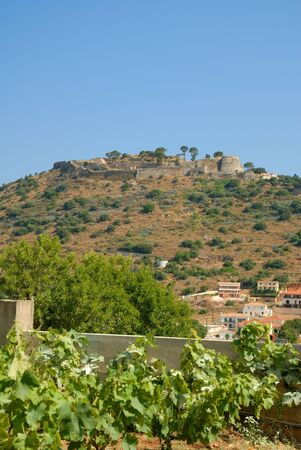 St Georges Castle on the Island of Kephalonia Greece