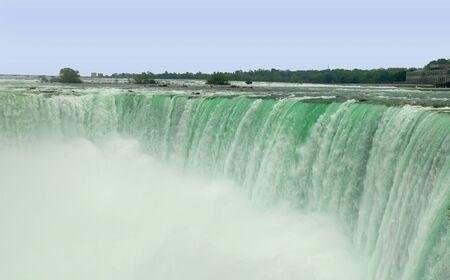 niagara falls city: Niagara Horseshoe Falls in Canada