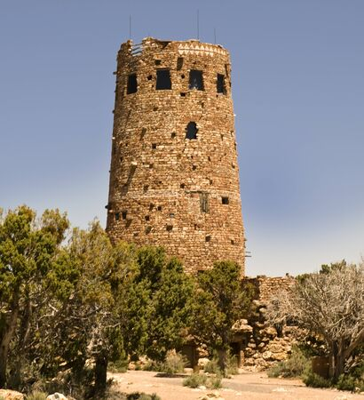 Desert View Watchtower was built in 1932 and is one of Mary Jane Colter Stock Photo - 10896487