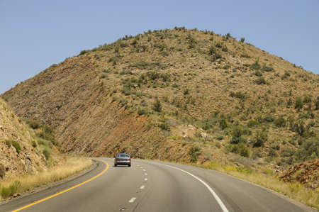 Highway in Nevada USA photo