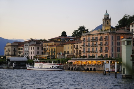 Bellagio on beautiful Lake Como Italy Europe Stock Photo